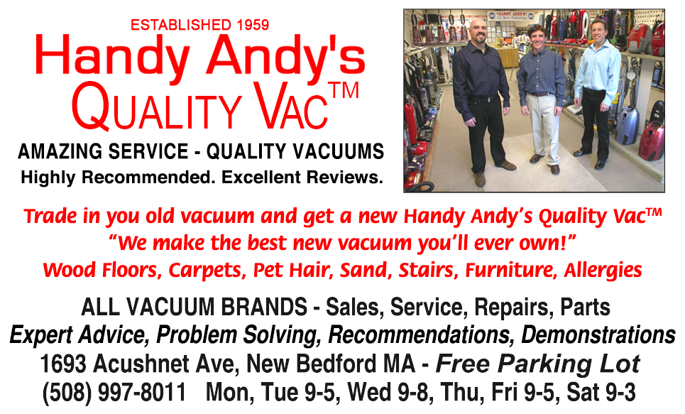 Welcome To Handy Andy S Quality Vacuum Cleaners New