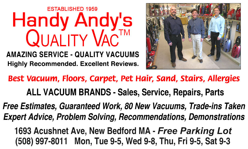 Welcome To Handy Andy S Quality Vacuum Cleaners New Bedford